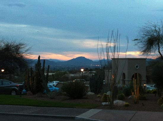 Westin La Paloma Resort and Spa: View of Tucson from the hotel