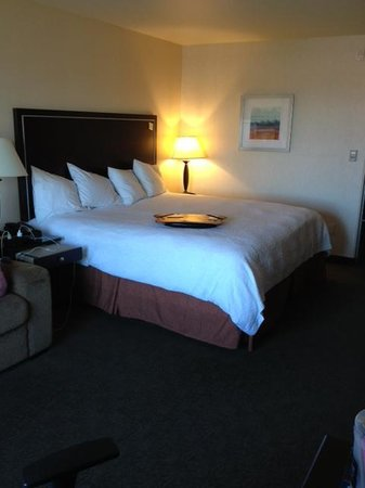 Hampton Inn and Suites Roseville: Clean Fresh Duvet Covers after each guest.