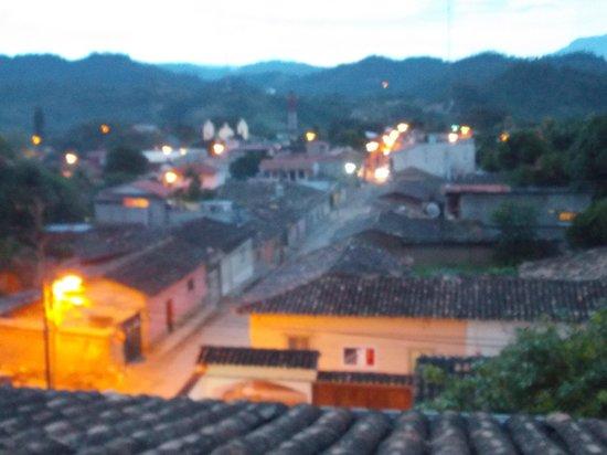 Hotel & Restaurant Guancascos: vista al tramonto