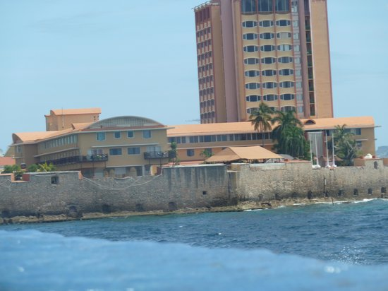 Renaissance Curacao Resort & Casino: The other side of the harbor from infinity pool