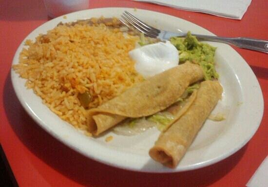 Casa Jimenez Mexican: taquitos
