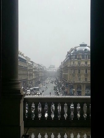 Palais Garnier - Opera National de Paris: the view from one of the rooms