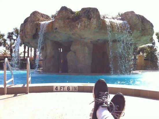 Hampton Inn Jacksonville Beach/Oceanfront: pool time