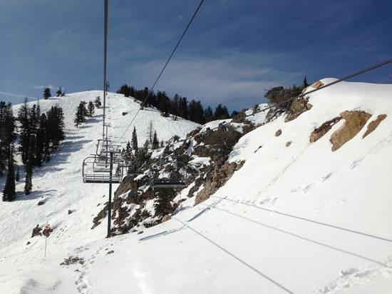 Powder Mountain SKi Resort: like my own private mountain