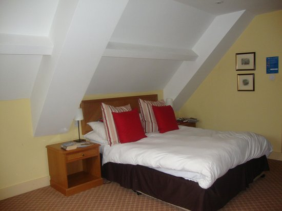 The Falstaff in Canterbury: Room 53 - quirky shape!