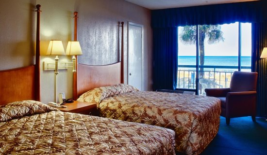 Summer Wind Inn & Suites: Oceanfront Efficiency