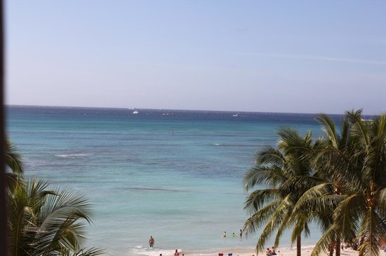The Royal Hawaiian, A Luxury Collection Resort: Great View from 3rd floor