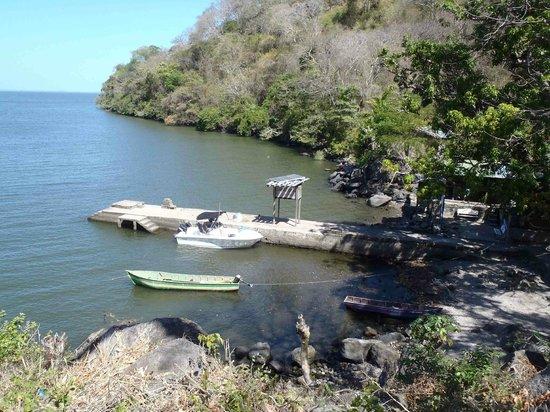 Zapatera Island: View to boat Pier