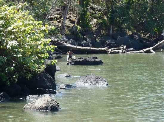 Zapatera Island: Boy Fishing