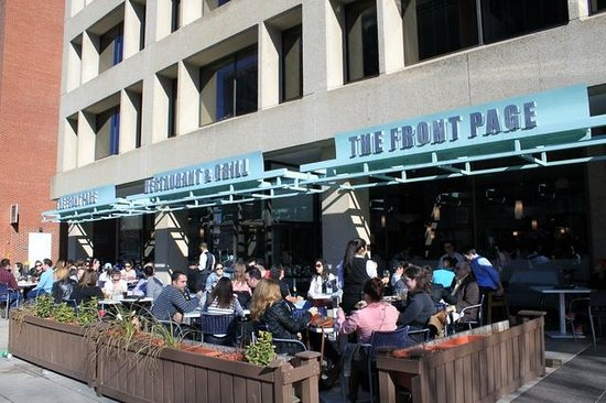 The Front Page Restaurant Grill Dupont Circle