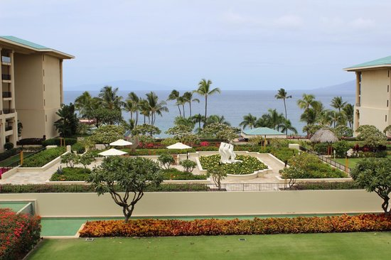 Four Seasons Resort Maui at Wailea: view from our room