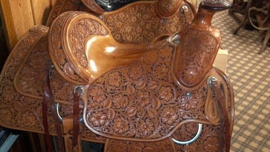 King's Saddlery and Museum: one of the Don King Saddles