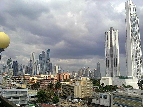 Bahia Suites Hotel: Vista desde la azotea/restaurante