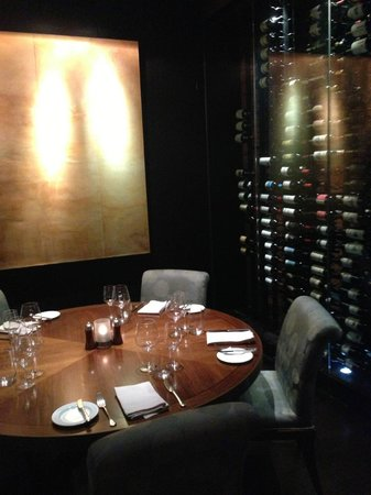 One of their private dining rooms - Picture of XIX Nineteen ...