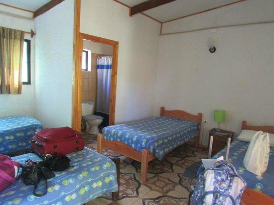 Residencial Tekena Inn: habitacion
