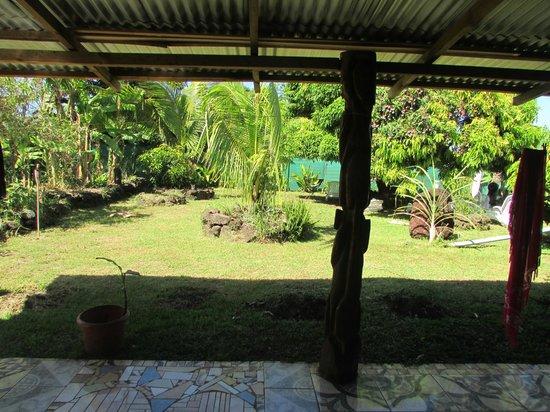 Residencial Tekena Inn: patio interior