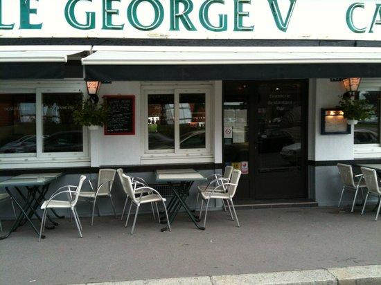 Le george v le havre restaurant bewertungen for Le jardin le havre restaurant