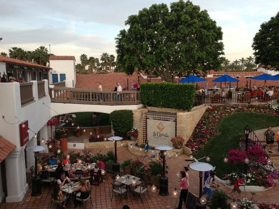 Adobe Grill @ La Quinta Resort: View from patio table