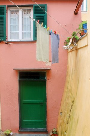 Boccadasse : what you see when you walk into the narrow streets