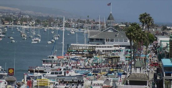 Newport Beach, Kaliforniya: Balboa Village Fun Zone