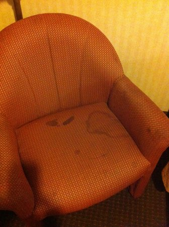 Econo Lodge Inn & Suites: Stained Chair