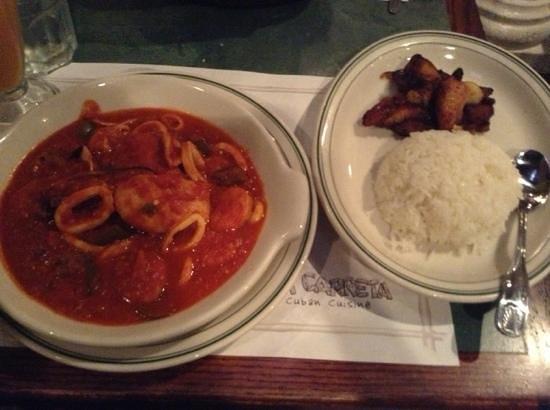 La Carreta Restaurant: seafood