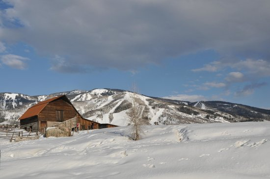 Steamboat Springs, CO: The infamous Barn in all the photos....
