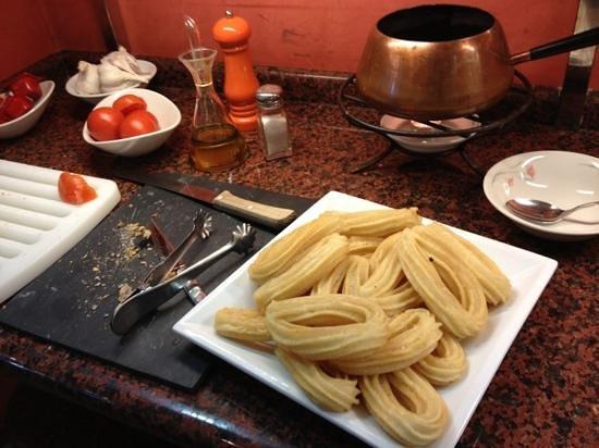 Hotel Platjador: churros