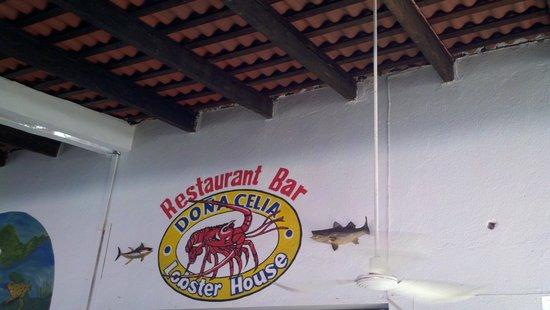 "Dona Celia Lobster House: Aqui es, ""Doña Celia"""