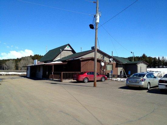 Pine Brook Inn sits in a former school house