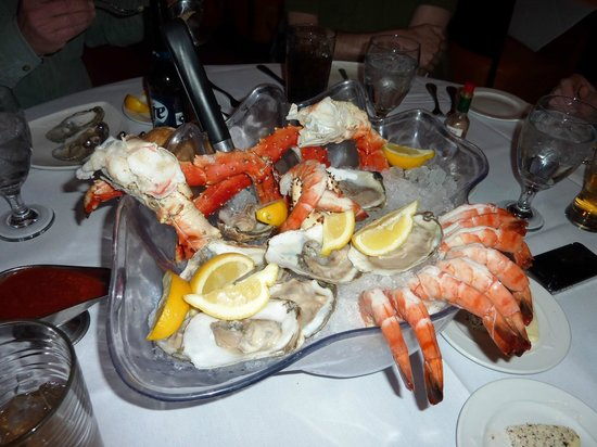 Jeff Ruby's Steakhouse : Oyster - King Crab Leg - Jumbo Shrimp