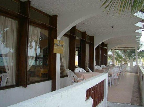 Hotel Chagra Ramos: Restaurant terraza