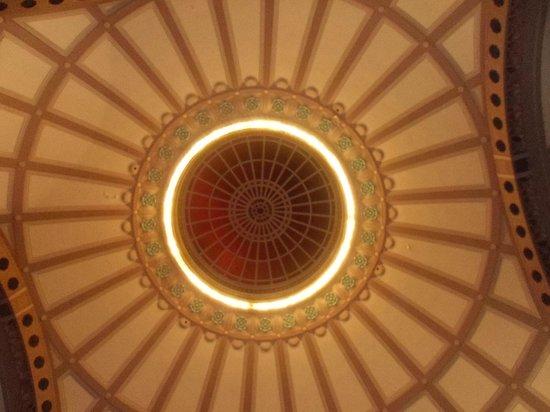 Chattanooga Choo Choo: Ceiling of main station/lobby