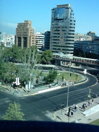 NH Collection Plaza Santiago : View from room 608 - 1