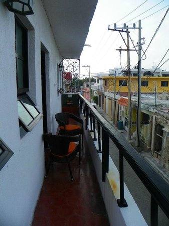 Casa Sirena Hotel: Room 3 balcony