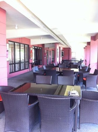 Lima Park Hotel: The outside seating of the Restaurant