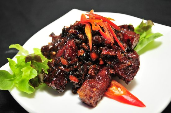 Man Yuan Fang: 辣酱烧肉 Spicy Pork Belly