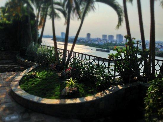 Saigon Domaine Luxury Residences: View from the balcony