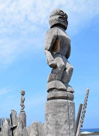 Pu'uhonua O Honaunau National Historical Park: Tikis