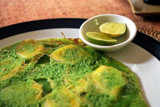 Nirwa Ubud Homestay: Ayu's banana pancakes