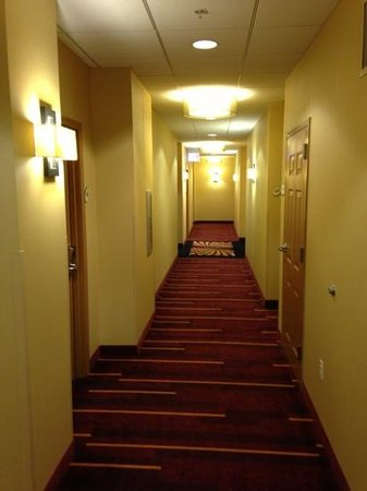 La Quinta Inn & Suites Chicago Downtown: hallway.