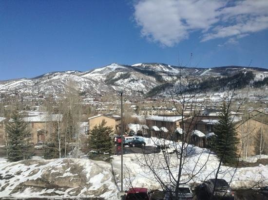 Fairfield Inn & Suites Steamboat Springs: The view from our room!