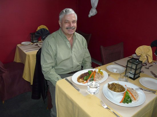 Ellison's Bistro: Lunch for two.