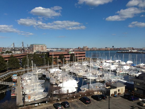 Residence Inn by Marriott Boston Harbor on Tudor Wharf: View from Suite 706