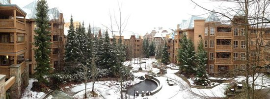 Embarc Whistler: View from room in the winter