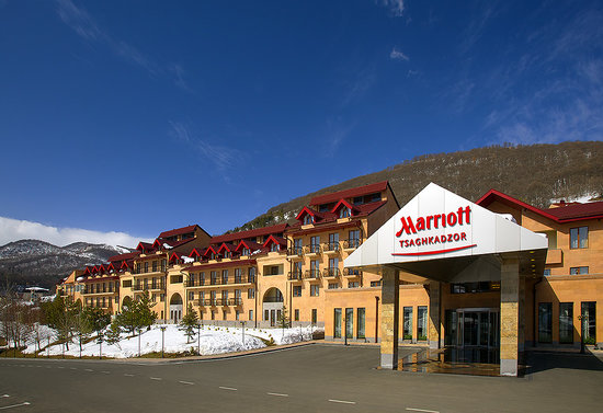 Цахкадзор, Армения: The exterior of Tsaghkadzor Marriott hotel
