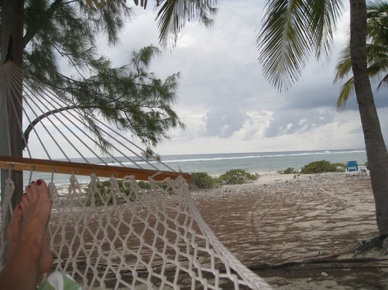 Pirates Point Resort: View from the hammock