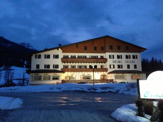 Padola, Italien: Vista dell'hotel