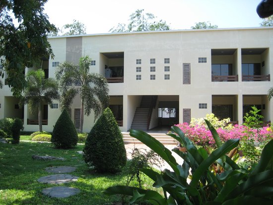 Garden Lodge: Flachdachhäuser wie auf Djerba.