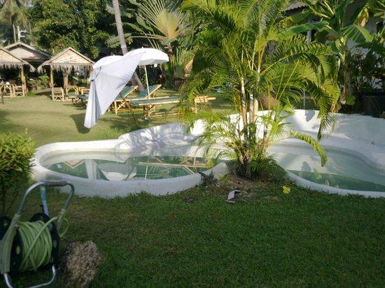 Green Canyon Hip & Cheap Resort: petite piscine bienvenue avec 35°